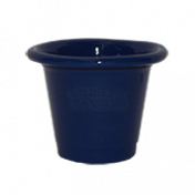 Mini Vaso de alumínio - N0 - Cor Azul Escuro