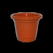 Mini Vaso de alumínio - N0 - Cor Vermelho Claro