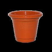 Mini Vaso de alumínio - N0 - Cor Laranja