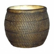 Vaso Barril - Tabaco - T.3 - L1115