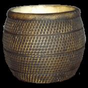 Vaso Barril - Tabaco - T.5 - L1115