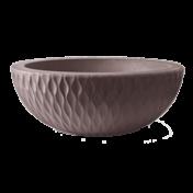 Vaso Infinity Concha N13 - 13x35 cm - 4 L - Tabaco