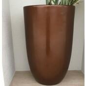Vaso Fibra de Vidro - Verona 44G - 80 alt x 44 diâm - Diversas Cores - Rotogarden