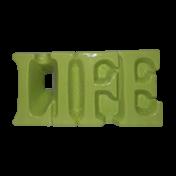 Vaso Cerâmica LIFE - Verde