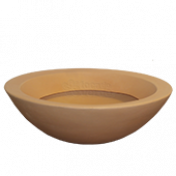 Vaso Malta Bowl - 56x17 cm - Cor Antique Terracota - Vasart