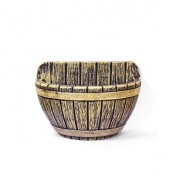 Vaso de Parede Tina N42 - 29,5x42 cm - 13 L - Cor Envelhecido