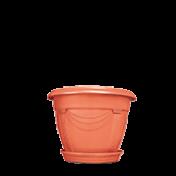 Vaso Romano - N00 - Diam 19 Alt 14 cm - Cor Cerâmica