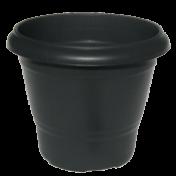 Vaso Terracota - N03 - Alt 33 cm - Cor Preta