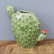 Vaso Bunny Ears Cactus em Cerâmica - 20,0x19,5 cm - Cor Verde - 40398