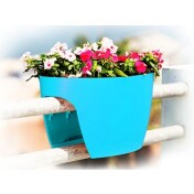 Greenbo XL Planter Grande - Vaso para Sacadas - Turquesa