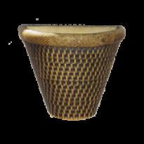 Vaso de Parede - Tabaco - 15,5 cm - 1,5 L - Pequeno L1107