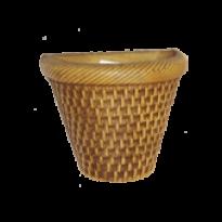 Vaso de Parede - Natural  - 15,5 cm - 1,5 L - Pequeno L1107