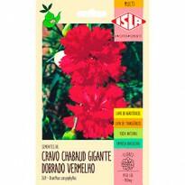 """Cravo """"Chabaud"""" Gigante Dobrado Vermelho (Ref 369)"""