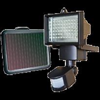 Refletor 60 LEDs de 0,2w Solar com Sensor de Movimento - 600 Lúmens - 9206 -  Ecoforce