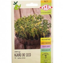Sementes para Microverde Agrião do Seco (Folha Larga) (Ref 918)