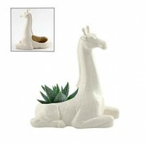 Cachepô Animals Giraffe em Cerâmica mini