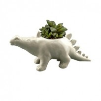 Cachepô Animals Stegosaurus em Cerâmica mini