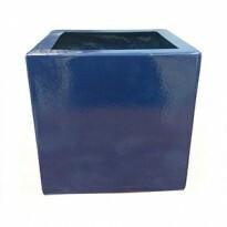 Cachepô Quadrado GG - Fibra de Vidro - 55x55x55 cm- Diversas Cores - Rotogarden