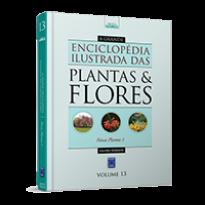 A Grande Enciclopédia Ilustrada das Plantas & Flores - Volume 13: Novas Plantas 1