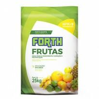 Forth Frutas Fertilizante - NPK 12-05-15 + 9 Nutrientes - 25kg