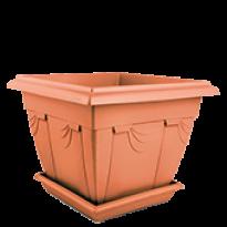 Floreira Romana - N2,5 - Larg 46 - Alt 28,7 cm - Cor Cerâmica
