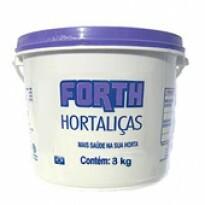Forth Hortaliças Fertilizante - NPK 15-05-10 + 9 Nutrientes - 3 kg