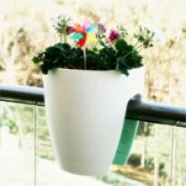 Greenbo Planter - Vaso para Sacadas - Branco
