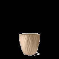 Vaso Infinity Redondo N37 - 37x37 cm - 27 L - Areia