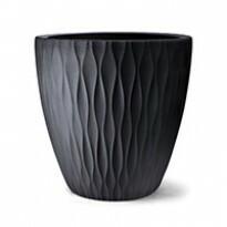 Vaso Infinity Redondo N85 - 85x85 cm - 400 L - Preto