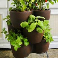 Jardineira Vertical - Horta Vertical - Rusty - Vasart