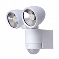 Luminária LED Dupla Inteligente - Bivolt - Branca- 13204 - Ecoforce
