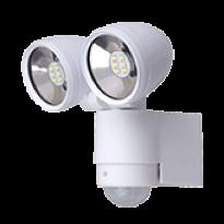 Luminária LED Dupla Inteligente - Bivolt - Branca- 13204 - Ecoforce