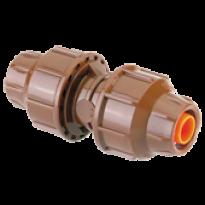 Conexão 16/16mm em linha com porca - 1221 - Elgo