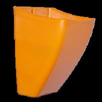 Cachepô de Parede PlastFit - Laranja