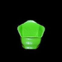 Cachepô Mini 06 - Verde - PlastPot