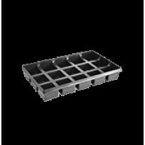 Porta Pote Quadrado - 15 cavidades