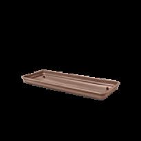 Prato para Jardineira 50 cm - Cor Tabaco