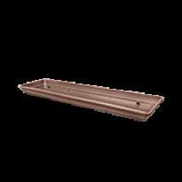 Prato para Jardineira 80 cm - Cor Tabaco