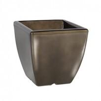 Vaso quadrado com pintura automotiva PPA08