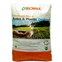 Substrato Mudas Plantio Germinação ORGÂNICO Biomix - 20 kg