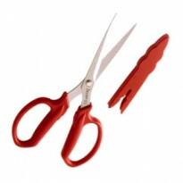 Tesoura Multiuso 18,5 cm - TS-3154-2 - Vermelho - Trapp