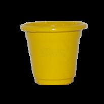 Mini Vaso de alumínio - N0 - Cor Amarela
