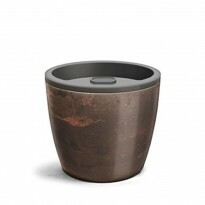 Vaso Autoirrigável Elegance N04 - 23,2x25,4 - 8 Litros - Cor Café Imperial