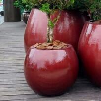 Vaso Fibra de Vidro - Vaso Bola