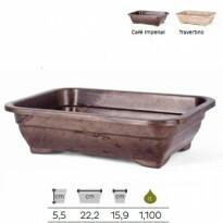 Vaso para Bonsai - Elegance - 5,5x22,2 cm - 1,1 Litros