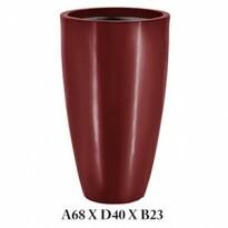 Vaso Cônico - 68 alt x 40 diâm - PPA31 - Pintura em Alto Brilho - Cores