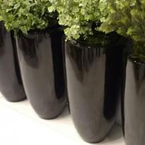 Vaso Fibra de Vidro - Verona 44P - 60 alt x 44 diâm - Diversas Cores - Rotogarden