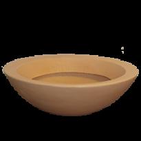 Vaso Malta Bowl - 56x17 cm - Cor Antique Terracota - Vasart
