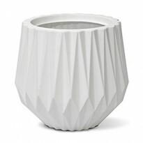 Vaso Origami N30 - 30x27,5 cm - 15,5 L - Cor Branco