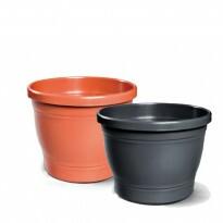 Vaso Plástico Redondo - Primavera - N04 - 19,0x23,0cm - 5,6 L